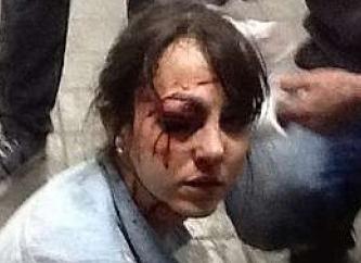 dano por violencia policial, depredação