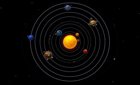 orbita, planetas sistema solar