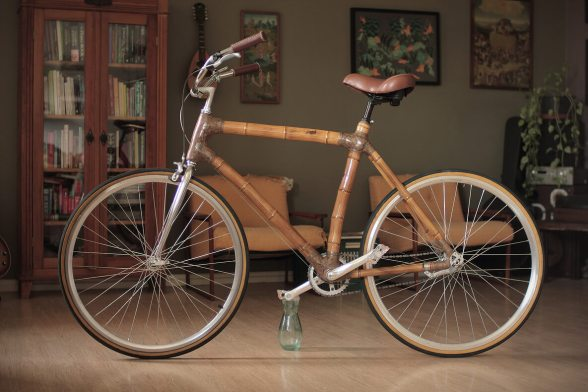 Unique bamboo bikes by ArtbikeBamboo