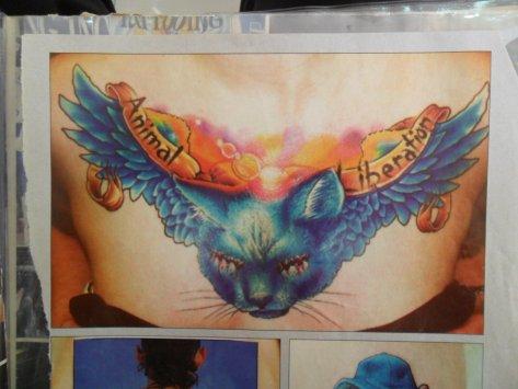 3 animal liberation tatuagem tatoo