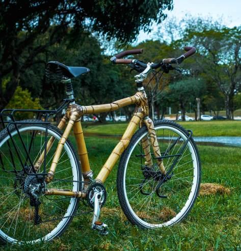 Hand made bamboo bike by artbikebamboo, bicicleta de bambu personalizada