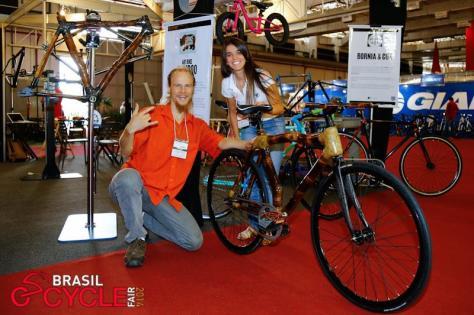 Klaus Volkmann, Isabella Lacerda, mtb competição, campeonato, bicicleta corrida, fixa, bamboo bike, bambu, brasilcyclefair, exposição ciclismo