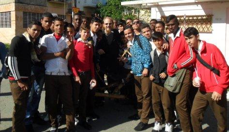 estudantes de La Havana