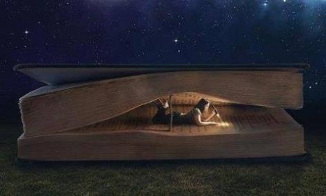 linda lendo livro