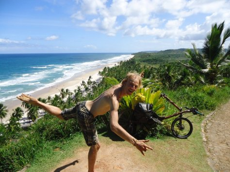 aventura de bicicleta na bahia, serra grande