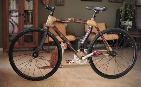 Bamboo bike, hand made
