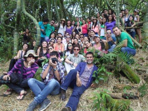 51 Palestra de Diego Serna no Sendero de Guadua, Bosque Mágico, Santander de Quilichao, Colômbia, Bambu, Bamboo