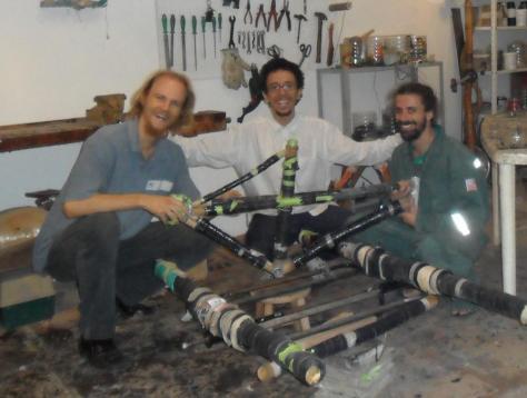 Klaus Volkmann, Thiago Alves Rampel, Marcos Nicolaievsky