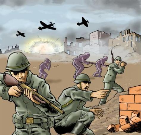 guerra, coisificação da vida